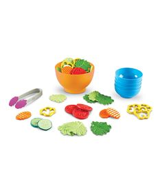 Garden Fresh Salad Set - this is so stinkin' cute!!