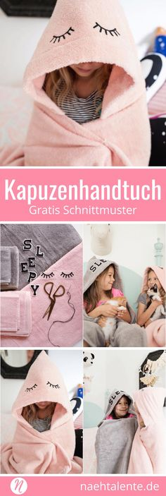 Kapuzenhandtuch für Kinder selber nähen aus Frottee. Tolles Projekt zum selber machen. Mit Nähanleitung ✂️ Nähtalente - Das Magazin für Hobbyschneider/innen ✂️ Free Sewing Tutorial for a Cozy Hooded Bath Towel ✂️ Nähtalente - Magazin for sewing and free sewing pattern ✂️ #nähen #freebook #schnittmuster #gratis #nähenmachtglücklich #freesewingpattern #handmade #diy