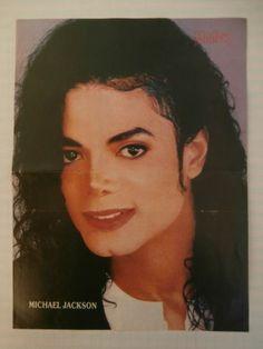 Michael Jackson Sgt Slaughter Double Side Mini Poster 1980's Greek Magazine | eBay