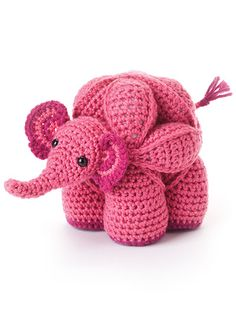 Featured in Amamani Puzzle Balls -- Amamani is short for Amigurumi Amish Puzzle Animals. They are based on the traditional Amish puzzle ball and, as such, come apart into three segments or rings, which have to be assembled to form the animal. Go here to watch a video and to order: http://www.anniescatalog.com/detail.html?prod_id=113005&cat_id=24.