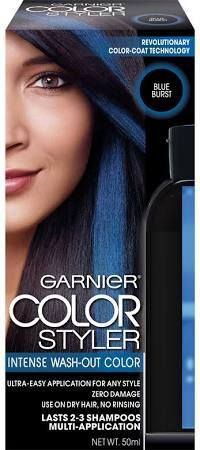 Kool aid hair dye diy pinterest kool aid hair dye kool aid hair garnier color style temporary blue hair dye solutioingenieria Image collections