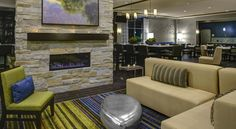 Holiday Inn Indianapolis North-Carmel Carmel Just off Interstate 465 and 12 miles from Indianapolis City Centre this Indiana hotel offers rooms with free WiFi and 32-inch flat-screen TVs. Guests can lounge near the heated indoor pool and hot tub featured on site.