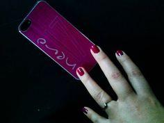 @francynero17 #nero17 #cover #iphone #laserTag #lasercut #engrave  #nailart #polish #trandy #beauty #hand #manicure by #madameTouché #estetique #nails #photo #pictures #pic #pics #snapshot #art #arts by madame.touche