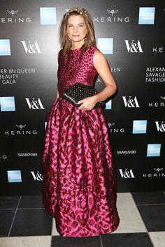 Natalie Massenet in Alexander McQueen