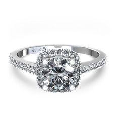 Cushion Cut Diamond Engagement Rings Ga 7
