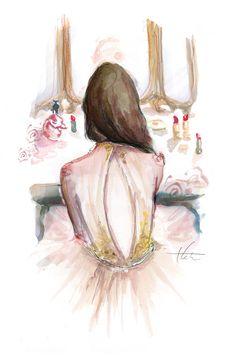 At Her Vanity by Katie Rodgers