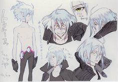 Mitsi-Y | Eureka Seven AO: Design Works - Kenichi Yoshida:...