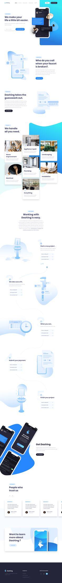 Dashing Web Design The post Dashing Web Design appeared first on Design. Cool Web Design, Web Design Studio, Ui Ux Design, Layout Design, Best Landing Pages, App Landing Page, Landing Page Design, Simple Website Templates, Queen Makeup