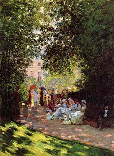Park Monceau, 1878, Claude Monet