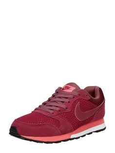 new style 80b2b 785cd Nike MD Runner 2 Bordeaux lage dames sneakers