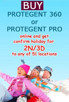 Unistal Systems offer Holiday 2N/3D stay for a couple worth 7000/ 51 locations for buying protegent 360 / Protegent Pro software. The very first company provides free packages along with a important utility of antivirus for PC.