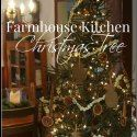 Farmhouse Kitchen Christmas Tour of Homes 2014