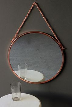 Bonlina Copper Circular Mirror On Chain http://www.rockettstgeorge.co.uk/bonlina-copper-circular-mirror-on-chain-18472-p.asp