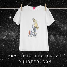 T-shirt design for the Ohh Deer competition. Design T Shirt, Shirt Designs, Logo Design, Graphic Design, Ohh Deer, Design Competitions, My T Shirt, T Shirts For Women, Mens Tops