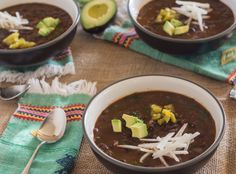 Pressure Cooker Spicy Black Beans and Hearty Greens - Pressure Cooking Today