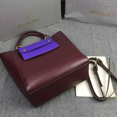 1c227350e325 2016 A  Mulberry Maple Tote Bag Burgundy Printed Goat Leather -   Mulberry  Outlet UK Team