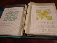 I have this book and this is a good idea to sketch the blocks our - dream quilt create: The Farmer's Wife Quilt Along