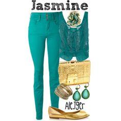 3. Favorite princess: Jasmine!