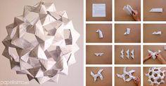 Aprende a realizar una lámpara de papel, ¡paso a paso!