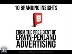 10 Branding Insights from Joe Erwin, President of Erwin Penland Advertising by 33voices.com via slideshare