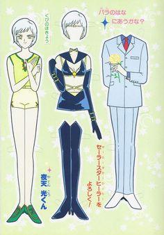 My Sailor Moon paper dolls - scanny3 - Álbumes web de Picasa