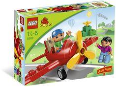 Lego rouge seau avec poignée construction ville