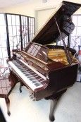 Art Case Piano Baby Grand Young Chang Burgundy (VIDEO) 1983 Showroom Condition $4500. (HOLIDAY SPECIAL FREE USA DELIVERY)