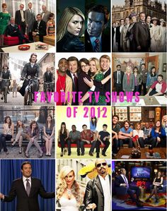 Favorite TV shows of 2012