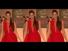Nargis Fakhri OOPS MOMENT while walking on the ramp.