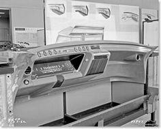 XP-727 instrument panel D-42943