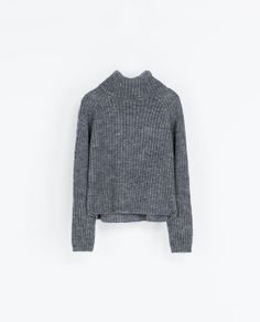 ZARA - WOMAN - WIDE TURTLE NECK JERSEY