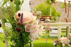 flores vintage ceremonia