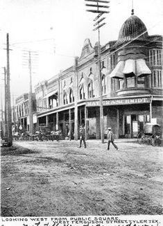 Tyler, TX - Mayer & Schmidt Department Store Historical photos of Tyler, Texas.