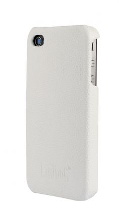 White leather iPhone case