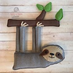 Ragdoll Sloth - Free Crochet Pattern at Spin a Yarn Crochet.