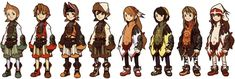 Clavats - Characters & Art - Final Fantasy Crystal Chronicles