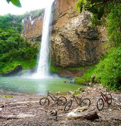 (12) Tumblr - Cachoeira do Chuvisqueiro - Riozinho, Rio Grande do Sul (by Lucas Brentano)