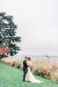 Sarah and Jack at their lovely reception. #praguewedding #wedding #weddingportrait #love  #weddingflowers #weddingdress #tuxedo #autumnwedding #elegantwedding #elopement #bride #groom #chateaumcely #pragueweddingphotography