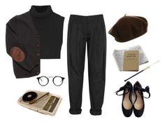 """""""1 9 3 6"""" by lazybambina ❤ liked on Polyvore featuring Gryson, Victoria Beckham, Kova & T and Alexander Wang"""
