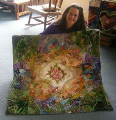 Allie Aller reports that her quilt, Crazy in the Garden, has been found