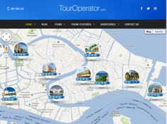 Tour Operator: WordPress Theme for Travel Agencies