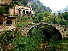 sweetmontana.....anacient bridge in Tobera-Burgos, Spain