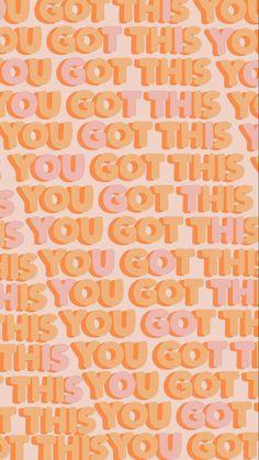 Colorfull Wallpaper, Orange Wallpaper, Wallpaper Iphone Cute, Aesthetic Iphone Wallpaper, Wallpaper Quotes, Aesthetic Wallpapers, Photo Wall Collage, Picture Wall, Phone Backgrounds