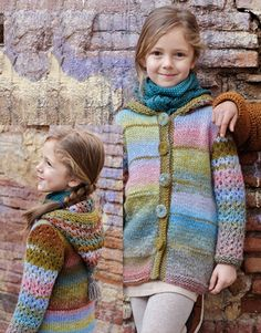 Book Kids 71 Autumn / Winter   2: Kids Jacket   Green-Brown-Pastel