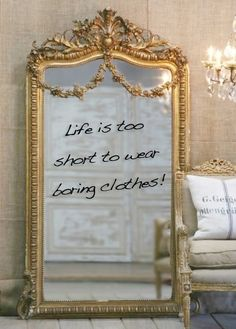 Life is too short to wear boring clothes!