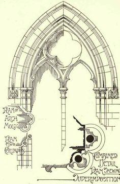 gothic tracery construction - Поиск в Google