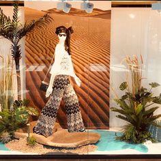 "BRONWASSER WOMEN, Gelderlandplein, Amsterdam, The Netherlands, ""Listen... Everywhere is within walking distance... If you have the time"", creative by Style-LINK NL, pinned by Ton van der Veer Fashion Communication, Visual Merchandising Displays, Window Display Design, Clothing Displays, Retail Store Design, Store Displays, Boutique Design, Shop Interior Design, Windows"