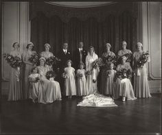 princess sibylla of sweden | The Wedding of Lady May Cambridge and Henry Abel Smith -- by Vandyk ...