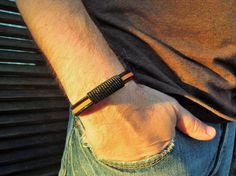 leather bracelet Men's Bracelet mens bracelet by leatheristanbul