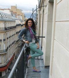 mint + purple + Paris...LOVE!